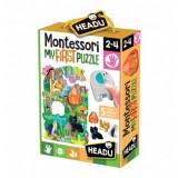 Primul meu puzzle jungla Montessori Headu