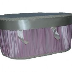 Cutie eleganta pentru botez-NN CEB9BRC, Roz