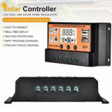 Controler regulator solar mppt 30A 12V/24V 2usb