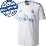 Tricou Adidas Real Madrid pentru barbati - tricou original, XL, XXL, Alb, Poliester