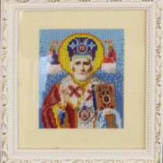 Broderie cu mărgele Sf. Nicolae