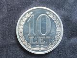 Romania 10 Lei 1988 Proba monetara, Aluminiu