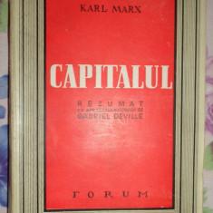 Capitalul / rezumat cu aprobarea autorului 200pagini-  Karl Marx