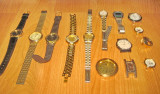 4550-Lot 12 ceasuri vintage nefunctionale pt. piese schimb.