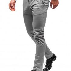 Pantaloni chino bărbați gri Bolf 2901