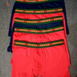 Set 5 boxeri Gucci  marimea L  ~34-35  - cm banda, Multicolor