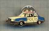 Y 532 INSIGNA - AUTOMOBILISTICA - POLIS- MASINA DE POLITIE -PENTRU COLECTIONARI