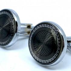 Butoni Elegant Round Silver
