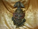 Masca antica africana tribala Wee Coasta de Fildes, Liberia, colectie