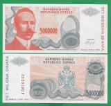 = BOSNIA – 5 000 000 DINARA - 1993 -  UNC   =