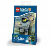 LEGO NEXO KNIGHTS, Breloc cu laterna - Clay