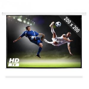 FrontStage Ecran de proiecție electric HDTV 200x200cm