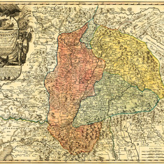 Harta Transilvania 1730 |