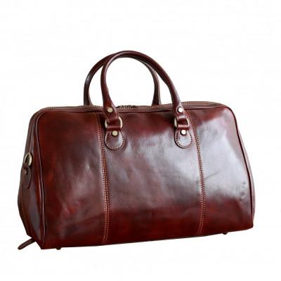 Geanta voiaj din piele naturala, geanta avion, GV108 foto