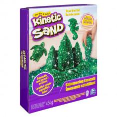 Set nisip kinetic modelabil - Pietre pretioase - Kinetic Sand Verde