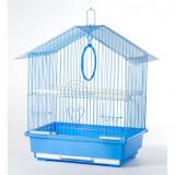 Colivie simpla Albastru, 33 x 23 x 39 cm