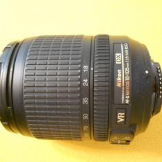 Obiectiv 18-105vr nou 5 cadre, All around, Stabilizare de imagine, Autofocus, Nikon