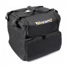 Beamz AC-125, geantă moale pentru transport, stivuibilă, 33x35,5x33 cm (lxÎxA) neagră