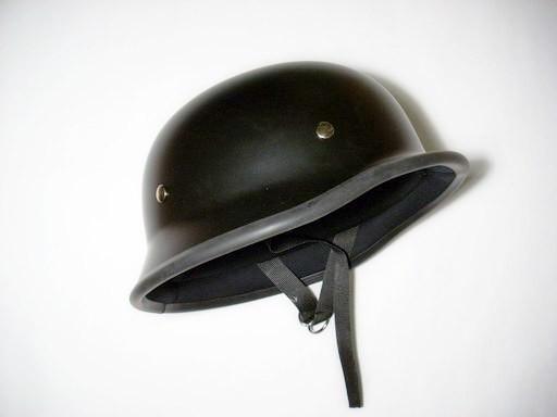 Casca nazi negru mat  S