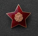 Cuc militar RPR - element coifura - emblema - insemn - Insigna