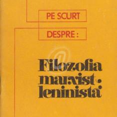 Filozofia marxist-leninista