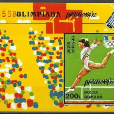 1992 - JO Barcelona, colita ndt neuzata