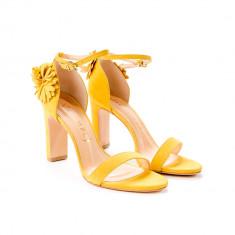 Sandale Cu Flori Paris