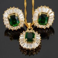 Set bijuterii Anebris Glamour Emerald