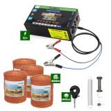 Pachet Gard electric Nexon pentru animale 3,1J putere plus 4000m de fir 90kg