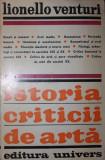 ISTORIA CRITICII DE ARTA - LIONELLO VENTURI