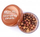 Cumpara ieftin Perlute Bronzante Iluminatoare ROYAL Bronzing Pearls, 40 g