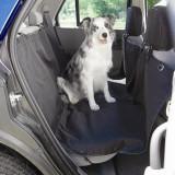 Husa auto protectie caini si pisici husa protectie bancheta Steetwize, cu decupaj pentru centura de siguranta Kft Auto