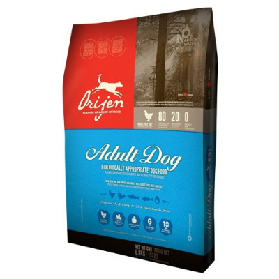 Orijen Dog Adult 11.4 kg + recompense Tail Swingers 100 g foto