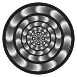 Abtibilduri roti, 2 buc / set, Nikidom Roller Hypnotic