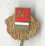 Insigna veche propaganda comunista LTSR