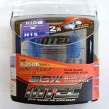 Cumpara ieftin SET 2 BECURI AUTO H15 MTEC SUPER WHITE - XENON EFFECT