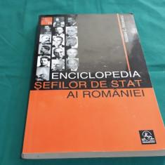 ENCICLOPEDIA ȘEFILOR DE STAT AI ROMÂNIEI/ NICOLAE C. NICOLESCU/ 2007
