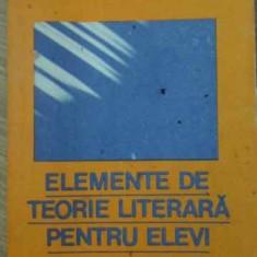 ELEMENTE DE TEORIE LITERARA PENTRU ELEVI - IOAN ANDRAU