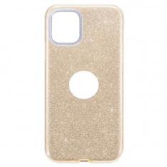 Cumpara ieftin Husa Apple iPhone 11 iberry Shining Auriu