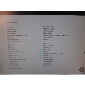 placa de baza laptop HP elitebook 2540p , i7 L 640, DDR3 , functionala