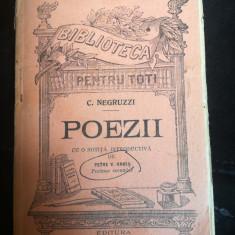 Poezii, de C. Negruzzi,  BPT no 336