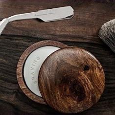 Brici Frizerie Inox Barbierit Ras + Pamatuf Barbierit