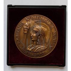 S.N.R. - 100 DE ANI DE LA INFIINTARE (1903-2003) - SOCIETATEA NUMISMATICA ROMANA