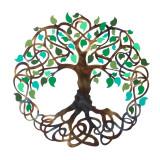 Placheta decorativa perete Copacul vietii - Seninatate