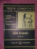 Poezii  / Ion Barbu texte comentate
