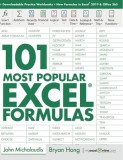 101 Most Popular Excel Formulas