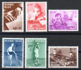 BELGIA 1962, Medicina, Copii cu dizabilitati fizice, serie neuzata, MNH, Medical, Nestampilat