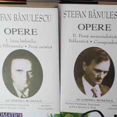 Colectia Adevarul Opere Fundamentale Academia Romana Stefan Banulescu Librarie