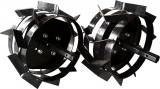 Set roti metalice, 30 cm, pentru motocultor, Rotakt