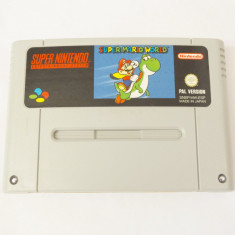 Joc consola Super Nintendo SNES  - Super Mario World - PAL
